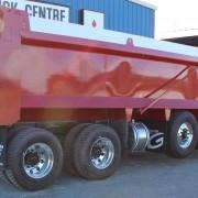 2018 Red Tri-Axle – Rear Side