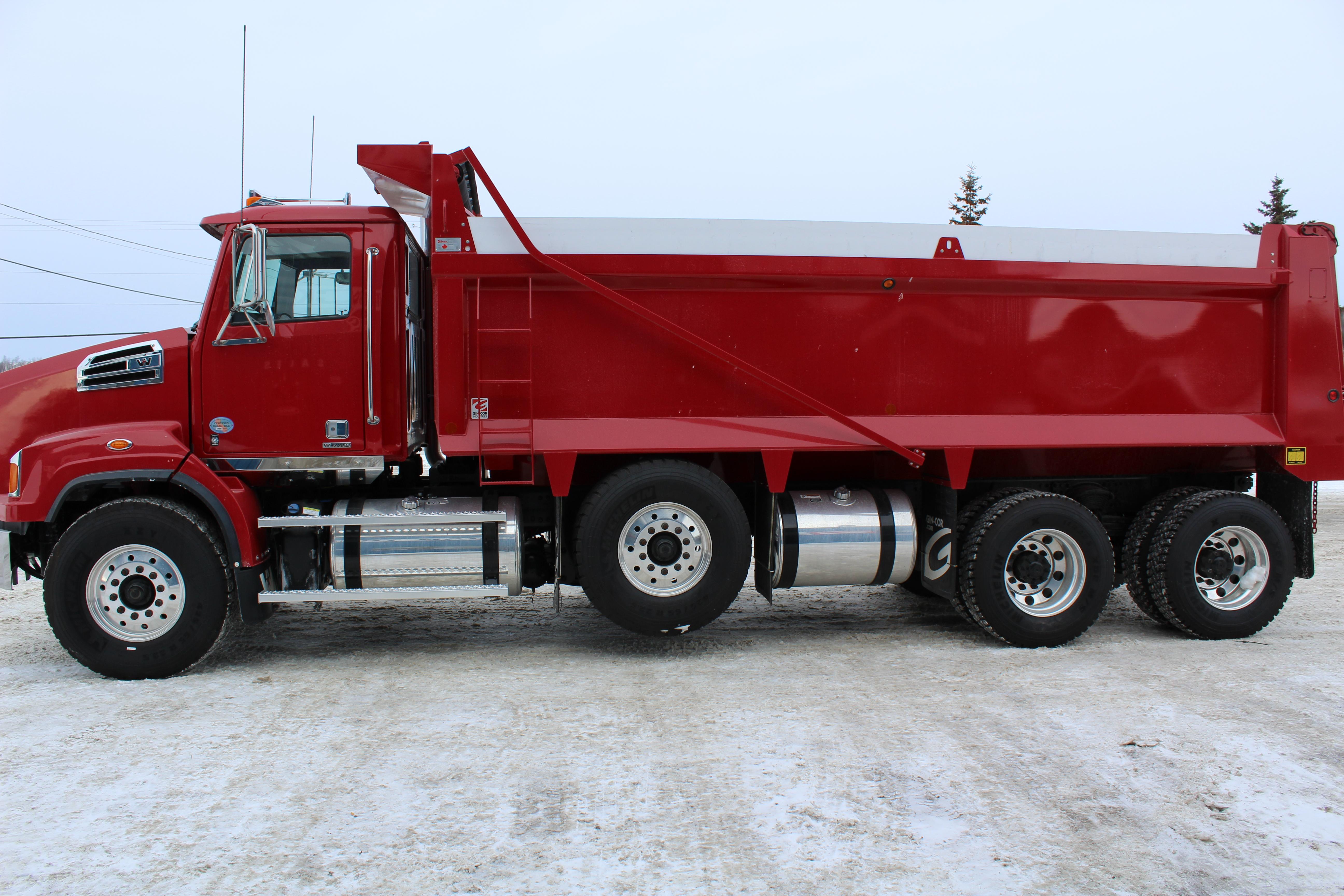 Western Star Tri Axle Dump Truck Cambrian Truck CentreCambrian